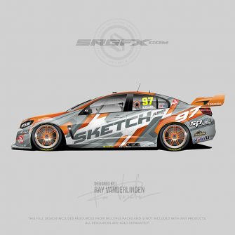 Sketch App 2019 V8 Super Car