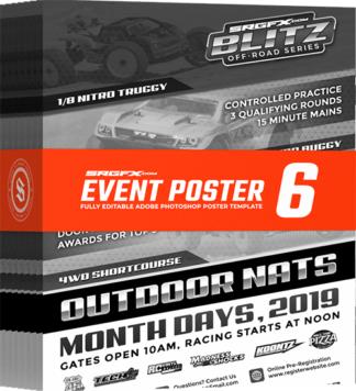 SRGFX Event Poster Template 6