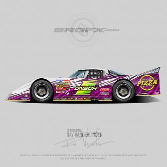 Hill Top Pizza 2019 Asphalt Outlaw Late Model