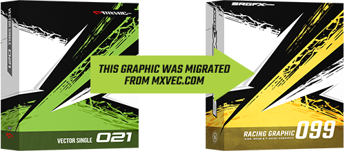 SRGFX MXVEC Vector Racing Graphic 099 Migration Banner