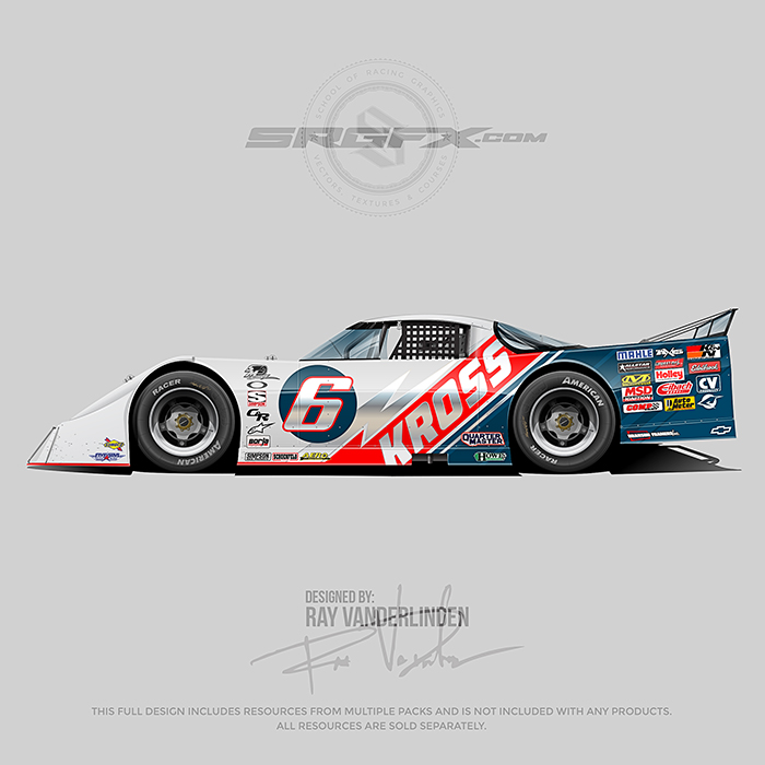Kross 2020 Asphalt Outlaw Late Model