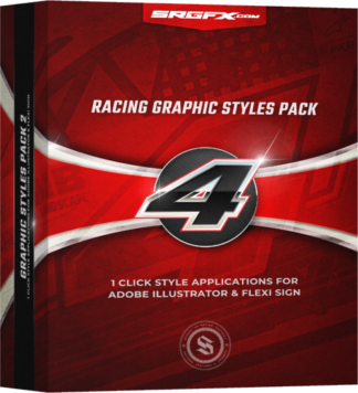 Racing Graphic Styles for Adobe Illustrator and Flexi Sign