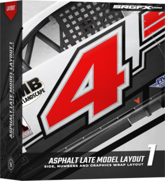 Asphalt Late Model Layout 1 Box