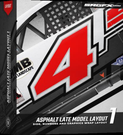 Asphalt Late Model Layout 1 Box