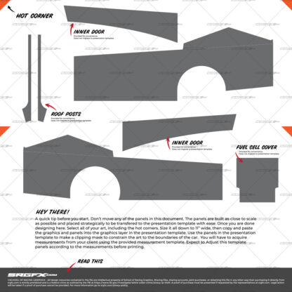 East Coast Modified Wrap Layout Template Side Panels