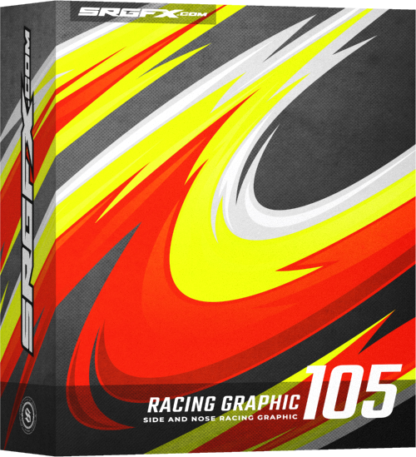 SRGFX Vector Racing Graphic 105