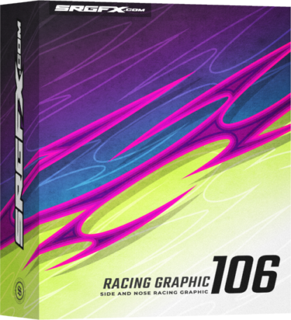 SRGFX Vector Racing Graphic 106