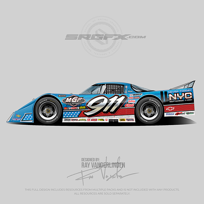 New City 911 Memorial 2020 Asphalt Outlaw Late Model
