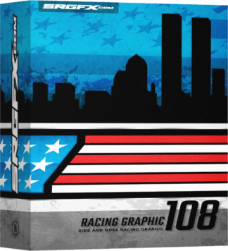 SRGFX Vector Racing Graphic 108