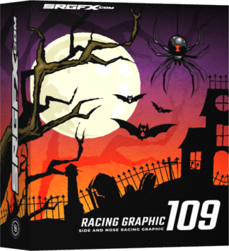 SRGFX Vector Racing Graphic 109