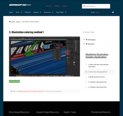 Mastering Illustration Wrap Graphic Preview 3