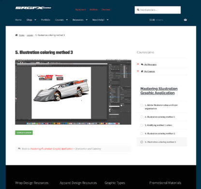 Mastering Illustration Wrap Graphic Preview 4