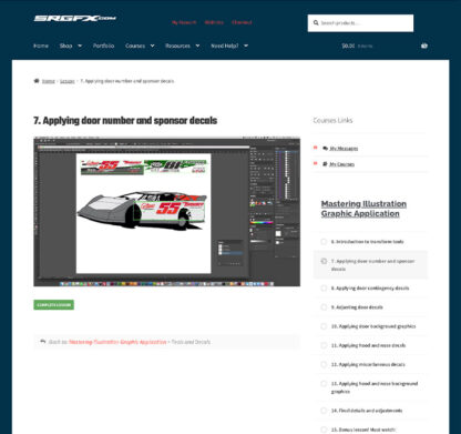 Mastering Illustration Wrap Graphic Preview 5