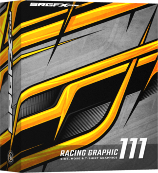 SRGFX Vector Racing Graphic 111