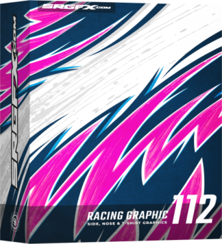 SRGFX Vector Racing Graphic 112 Box