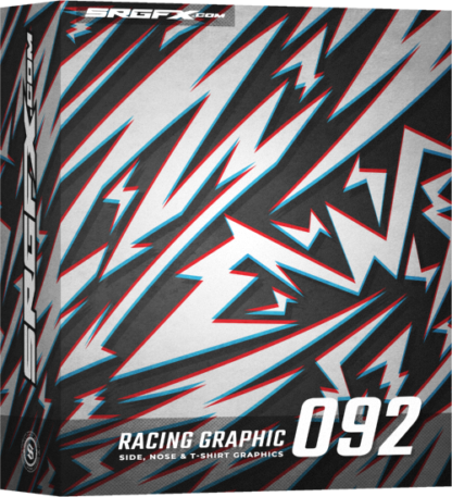SRGFX Vector Racing Graphic 092 Box