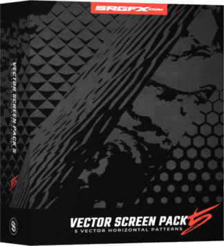 SRGFX Vector Screen Pack 5 Horizonal Vehichle Wrap Pattern