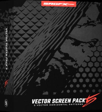 SRGFX Vector Screen Pack 5 Horizonal Vehichle Wrap Pattern