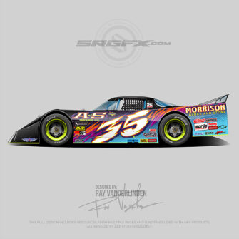 A and S Machine Co. 2021 Asphalt Outlaw Late Model