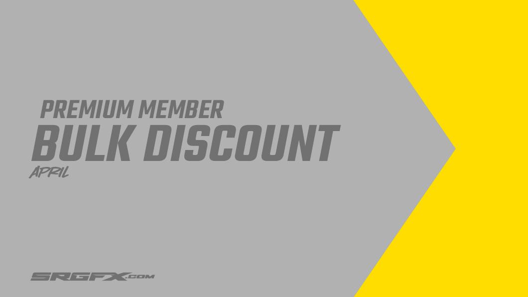 April 2020 Premium Member Buk Discount