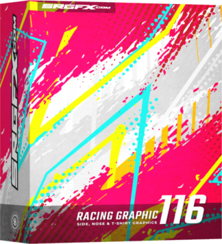 SRGFX Vector Racing Graphic 116 Box