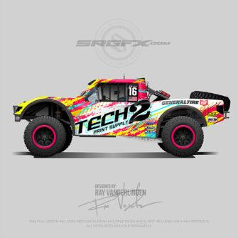 Tech 2 Paint Supply 2021 Stadium Truck