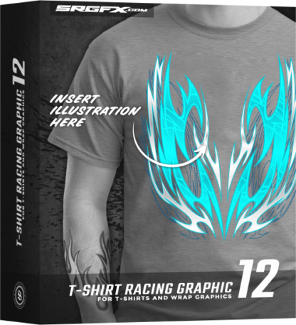 SRGFX T Shirt Racing Graphic 12 Box