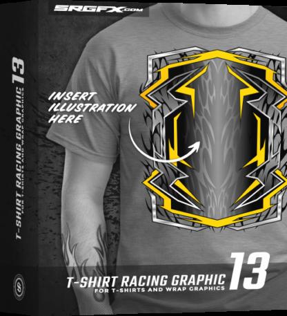SRGFX T Shirt Racing Graphic 13 Box