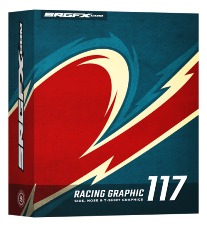 SRGFX Vector Racing Graphic 117 Box