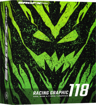 SRGFX Vector Racing Graphic 118 Box