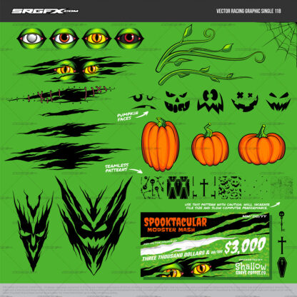 SRGFX Vector Racing Graphic 118